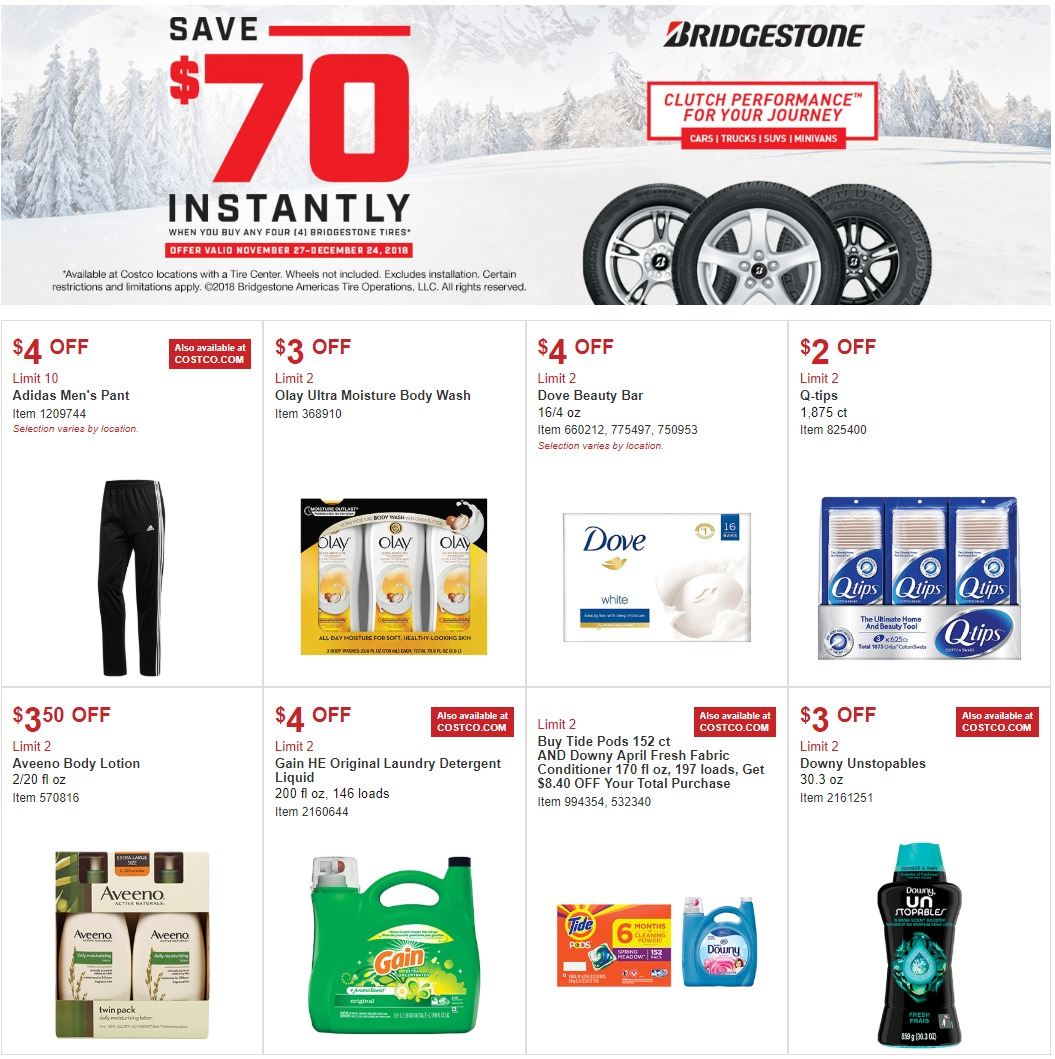 Costco Furniture Coupons: Costco Coupons Ad November 27