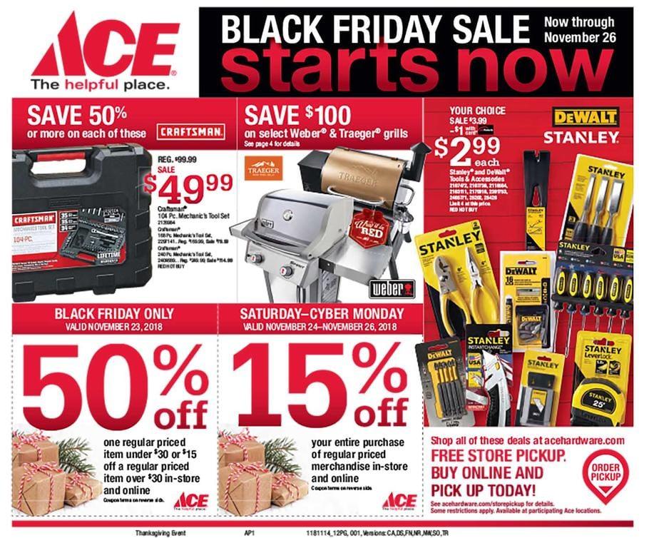 Ace Hardware Black Friday Ad 2018