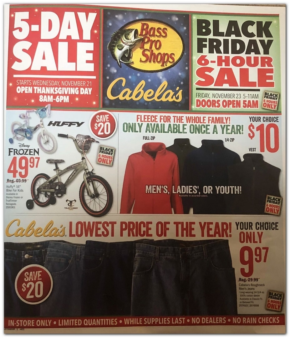 Cabela S Black Friday Ad Sale 2019