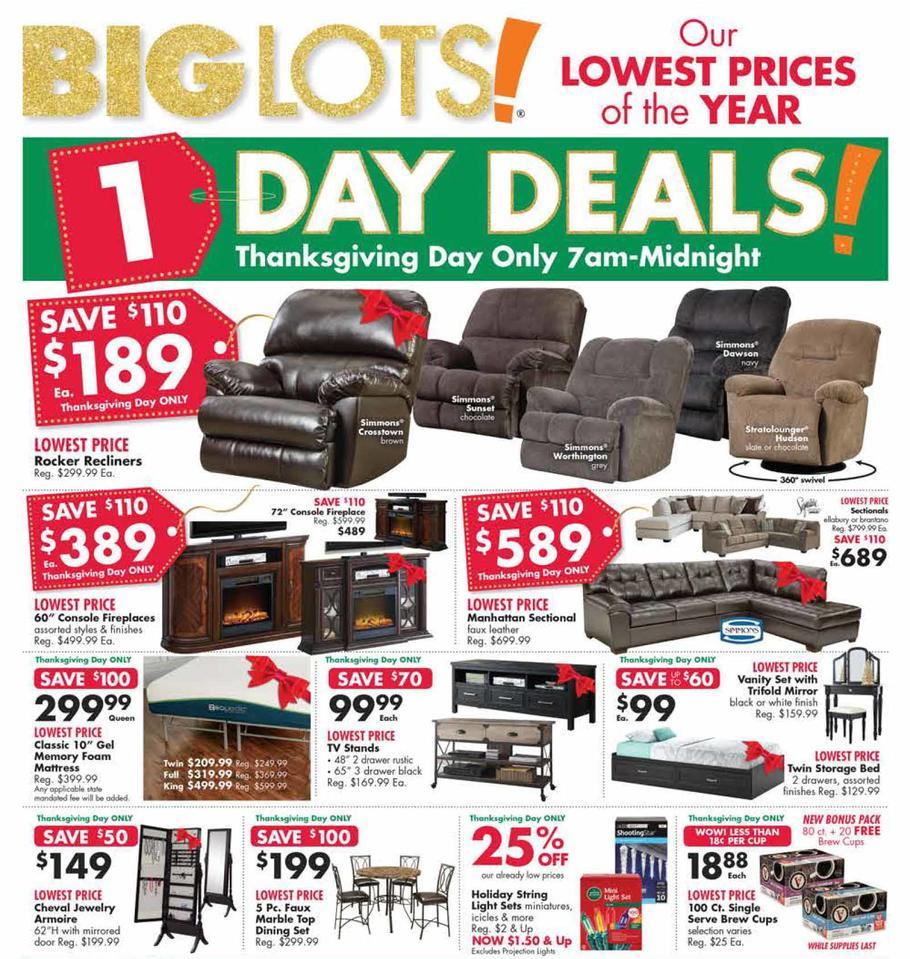 Big Lots Black Friday Ad 2018