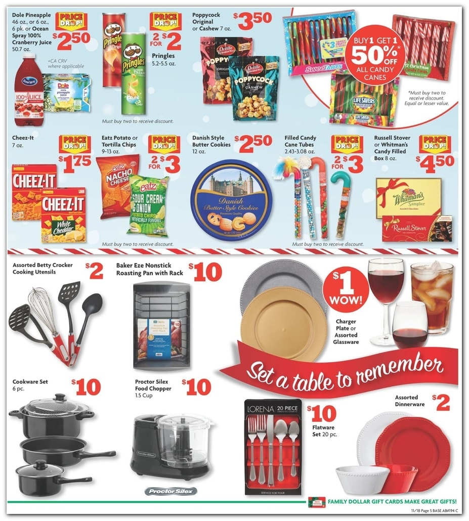 Family Dollar Christmas Day Hours.Family Dollar Black Friday Ad Sale 2019