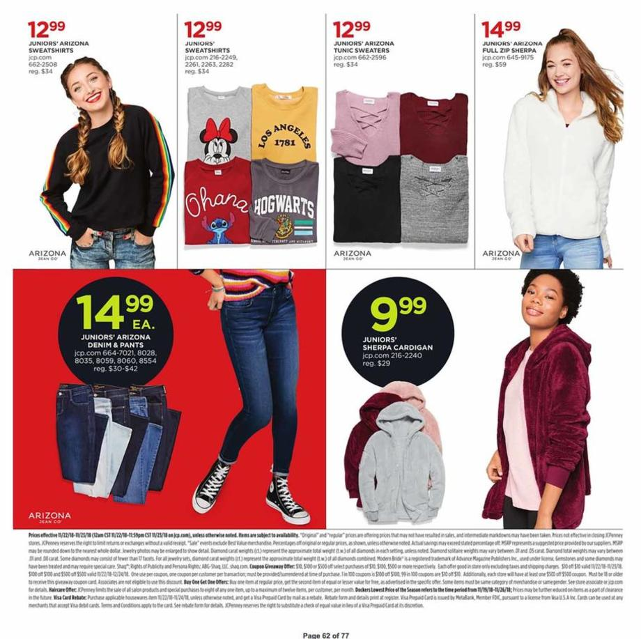 Www Jcpenney Outlet: JCPenney Black Friday Ad Sale 2019