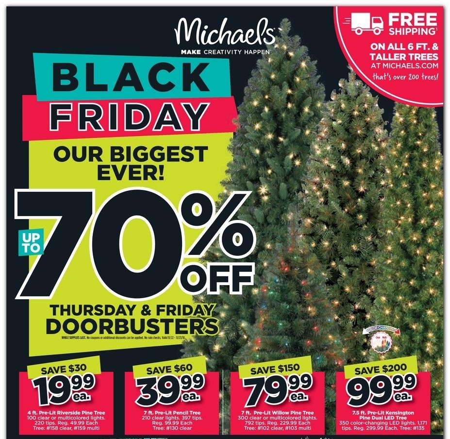 Michaels Black Friday Ad 2018