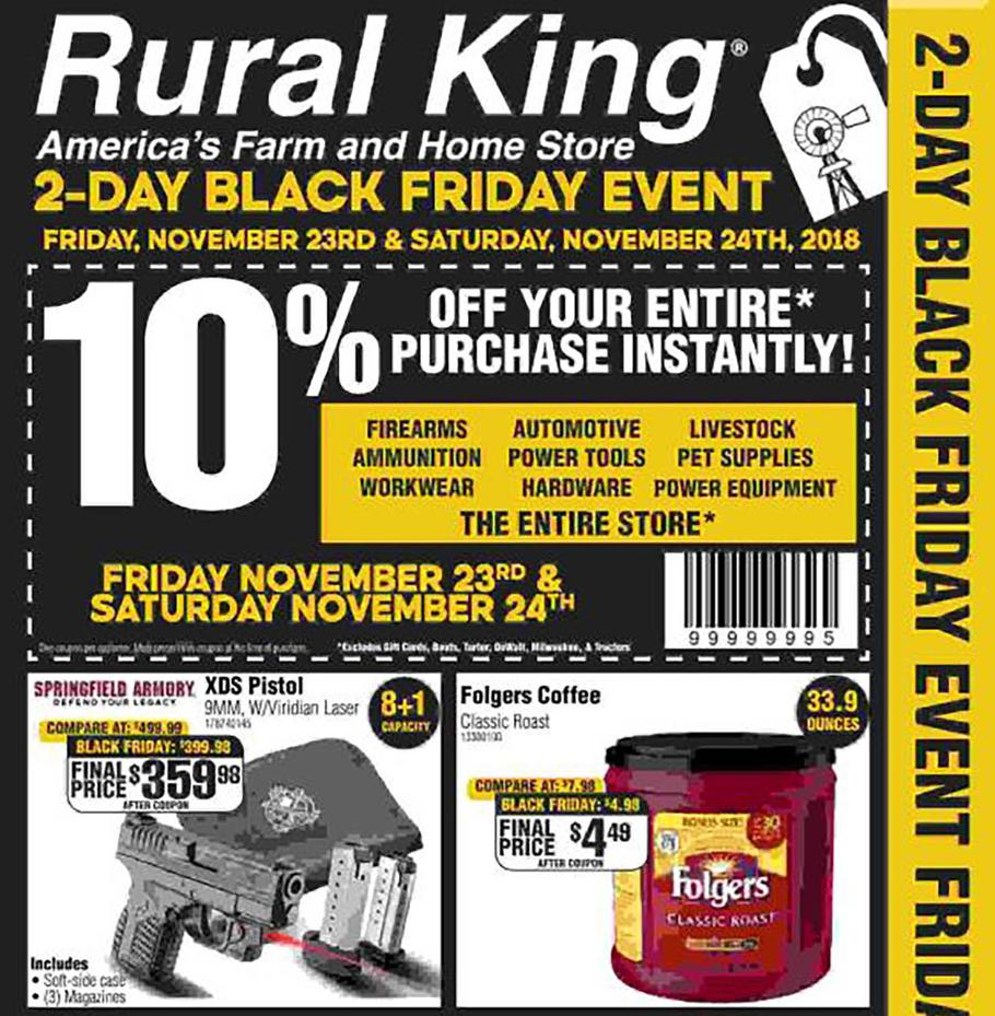 Rural King Black Friday Ad 2018