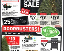 Lowes Black Friday