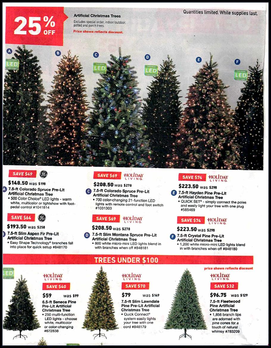 Black Friday Christmas Tree Deals 2019.Lowe S Black Friday Ad Sale 2019