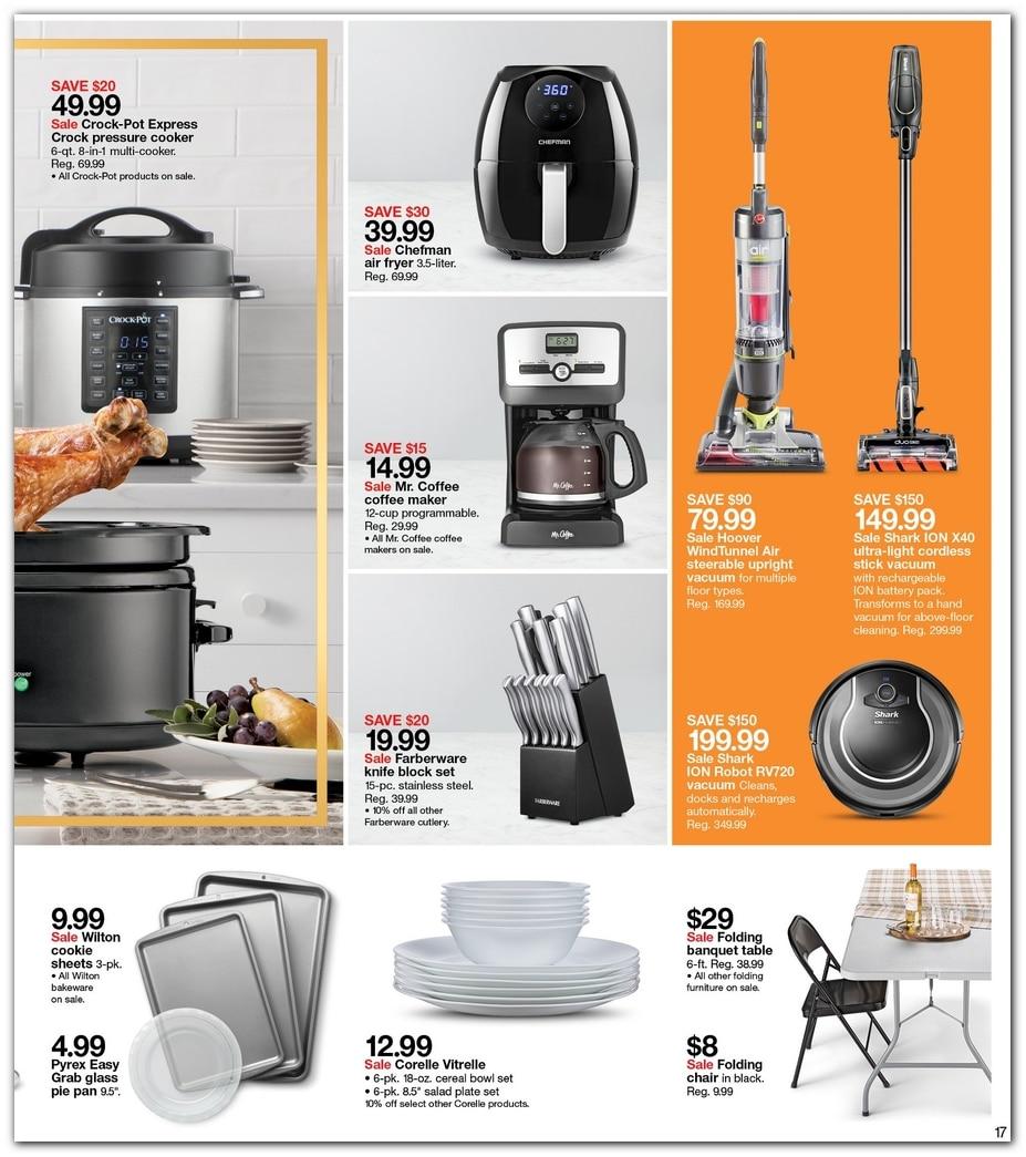 target pre black friday 2018 ad. Black Bedroom Furniture Sets. Home Design Ideas
