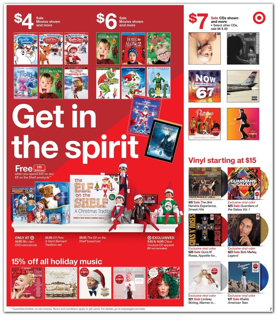 Target Pre Black Friday 2019 Sale Ad