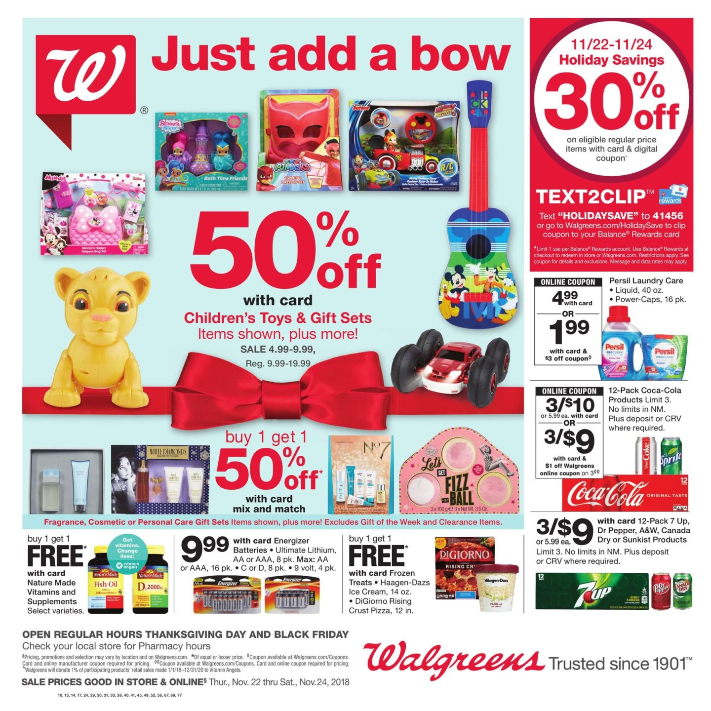 Walgreens black friday 2019 photo