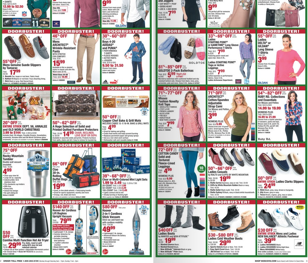 878b176bfa3 Find Buy One Get One offers in the weekly circular and so much more  in-store. Boscov s Ad