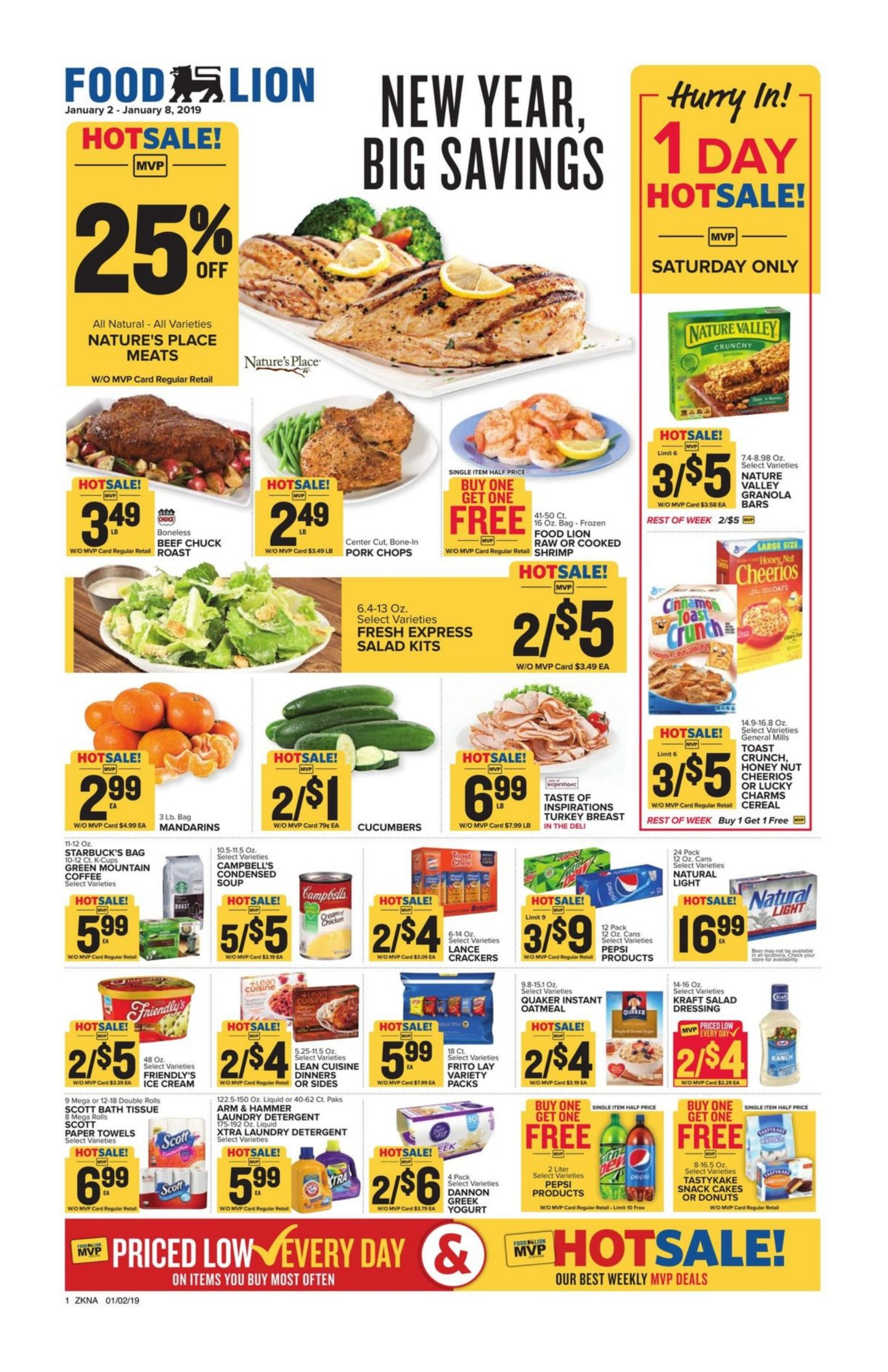 Food Lion Weekly Ad January 2 January 8 2019