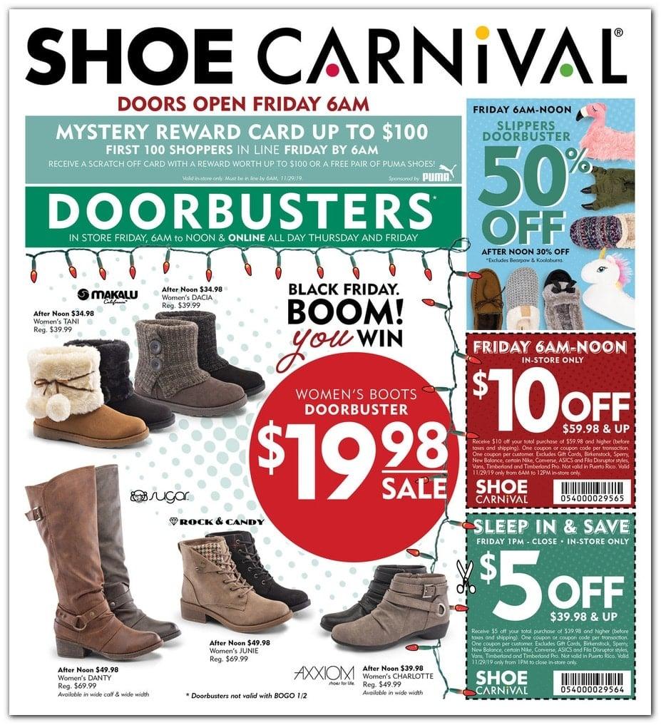 Shoe Carnival Black Friday 2020 Ad Sale