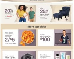 0a19d270 Check out the JCPenney Flyer Sale, valid June 10 – June 12, 2019. Save with  this week JCPenney Weekly Circular, coupons and online & in-store  promotions.