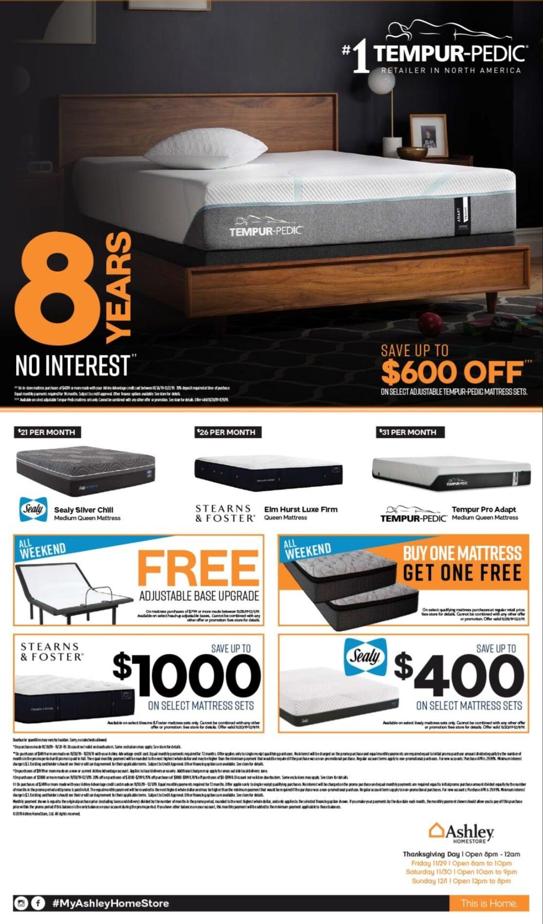 Ashley Furniture Black Friday Ad Sale 2020