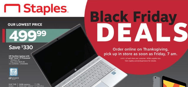 Laptop Black Friday 2020 Deals - from $129.99