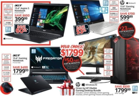 Laptop Black Friday 2021 Deals - from $129.99