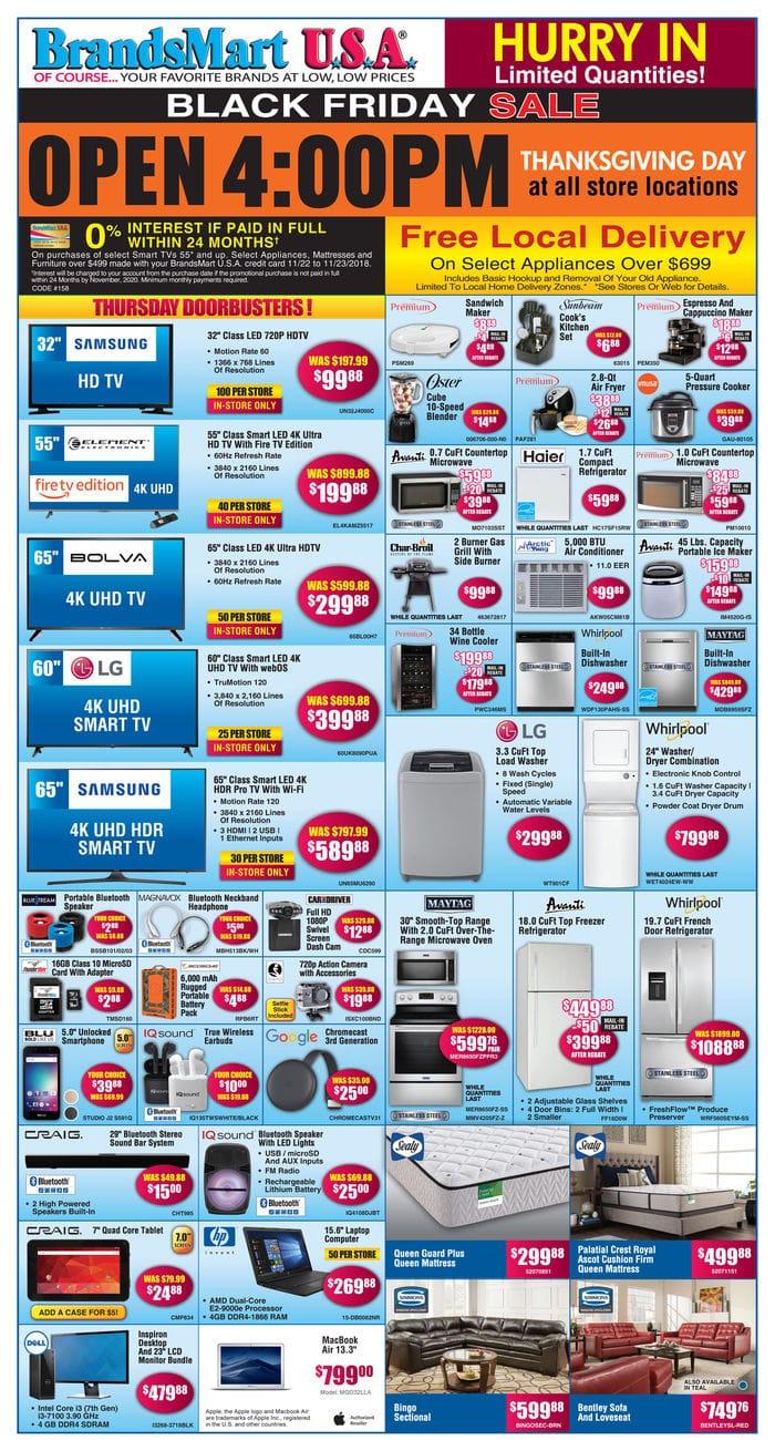BrandsMart Black Friday Deals