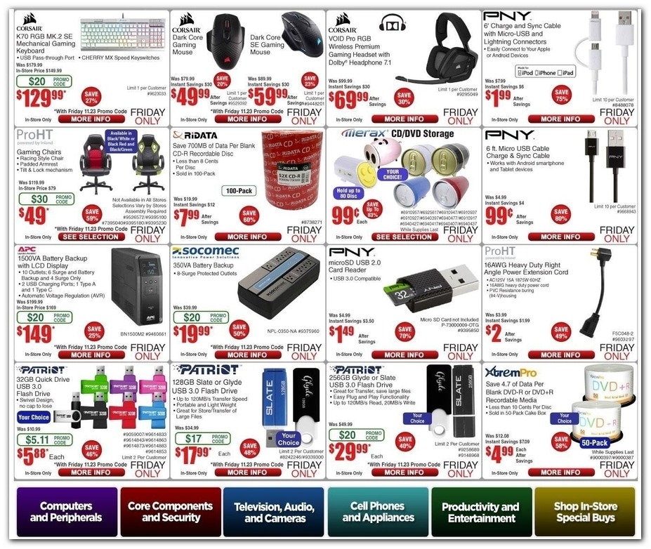 Fry S Electronics Black Friday Sale Ad 2019