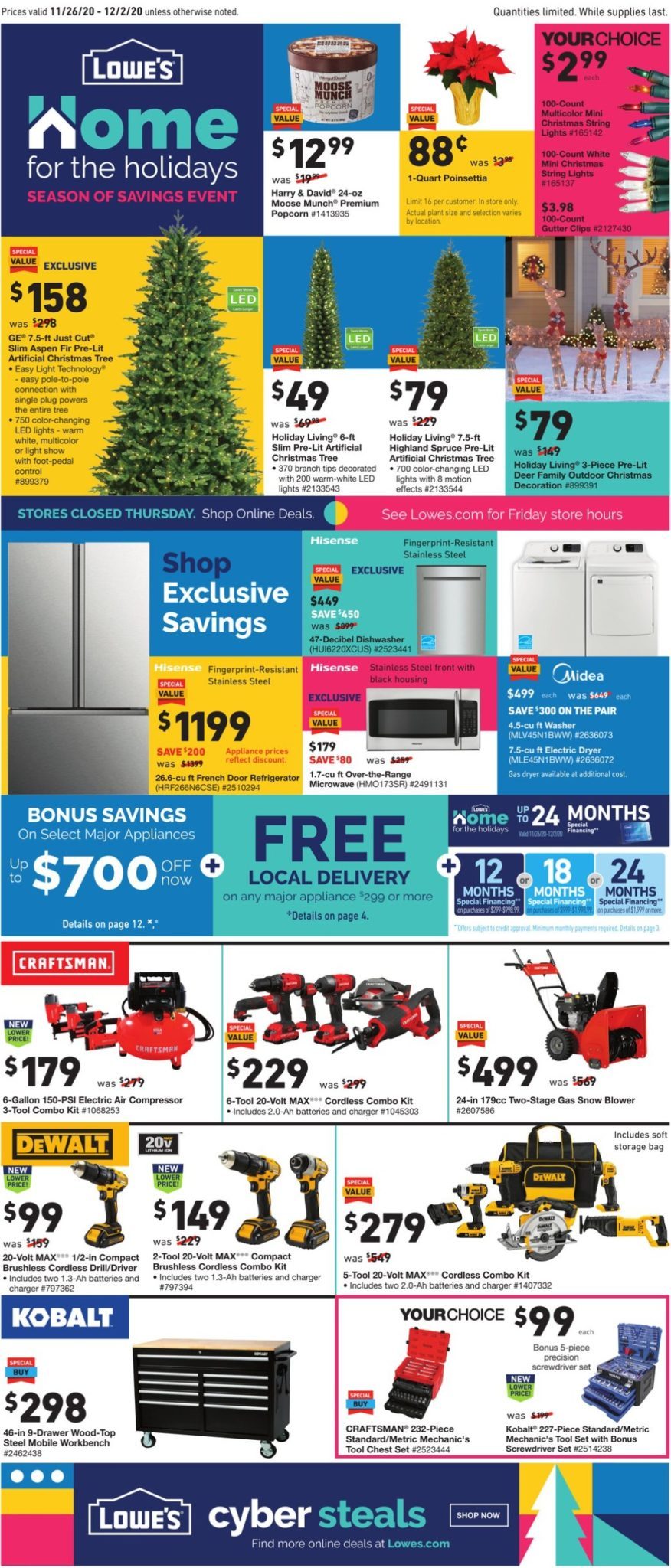 Lowe's Black Friday Ad Sale 2020