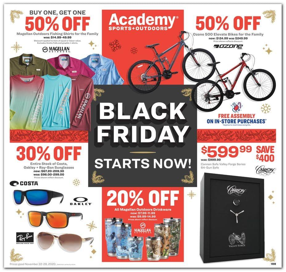 Academy Sports Black Friday Ad Sale 2020