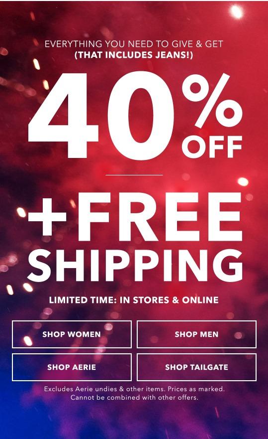 American Eagle Black Friday 2019 Sale Amp Deals