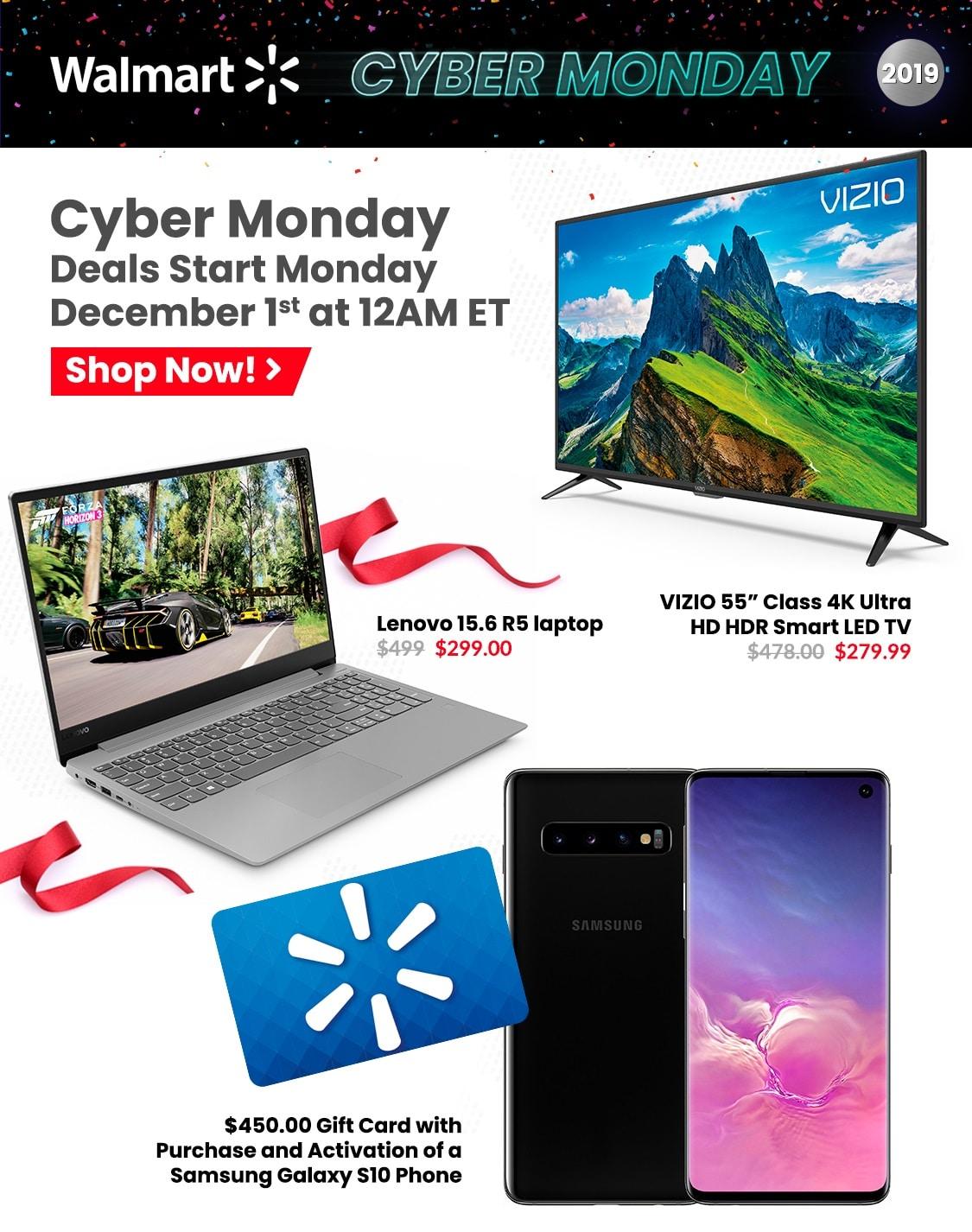Walmart Cyber Monday 2019 Deals
