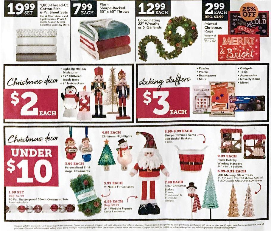 Christmas Tree Sale Black Friday: Christmas Tree Shops Black Friday Ad Sale 2020