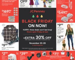 JCPenney Black Friday Ad Sale 2020