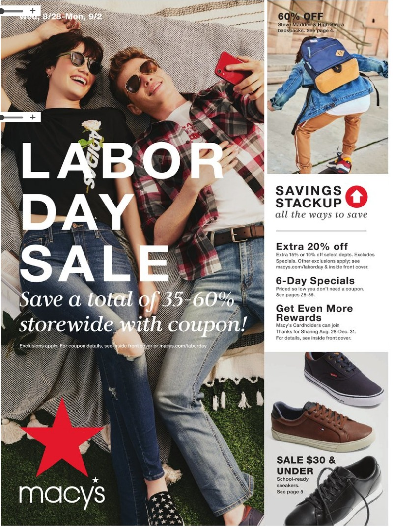 Macy S Labor Day Sale 2020 Up To 60 Off Storewide