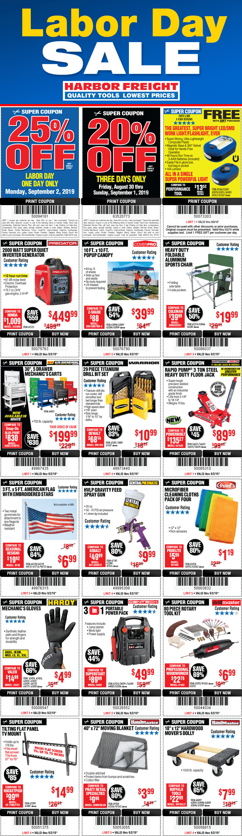 It is a photo of Shocking Harbor Freight 25 Off Coupon 2020 Printable