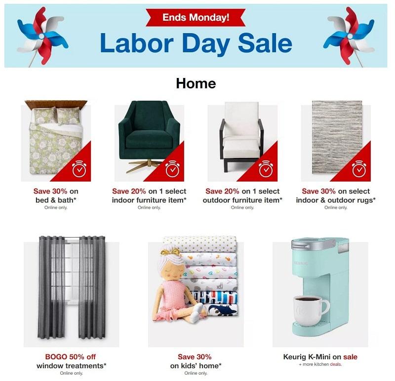 Target Memorial Day Sale 2020