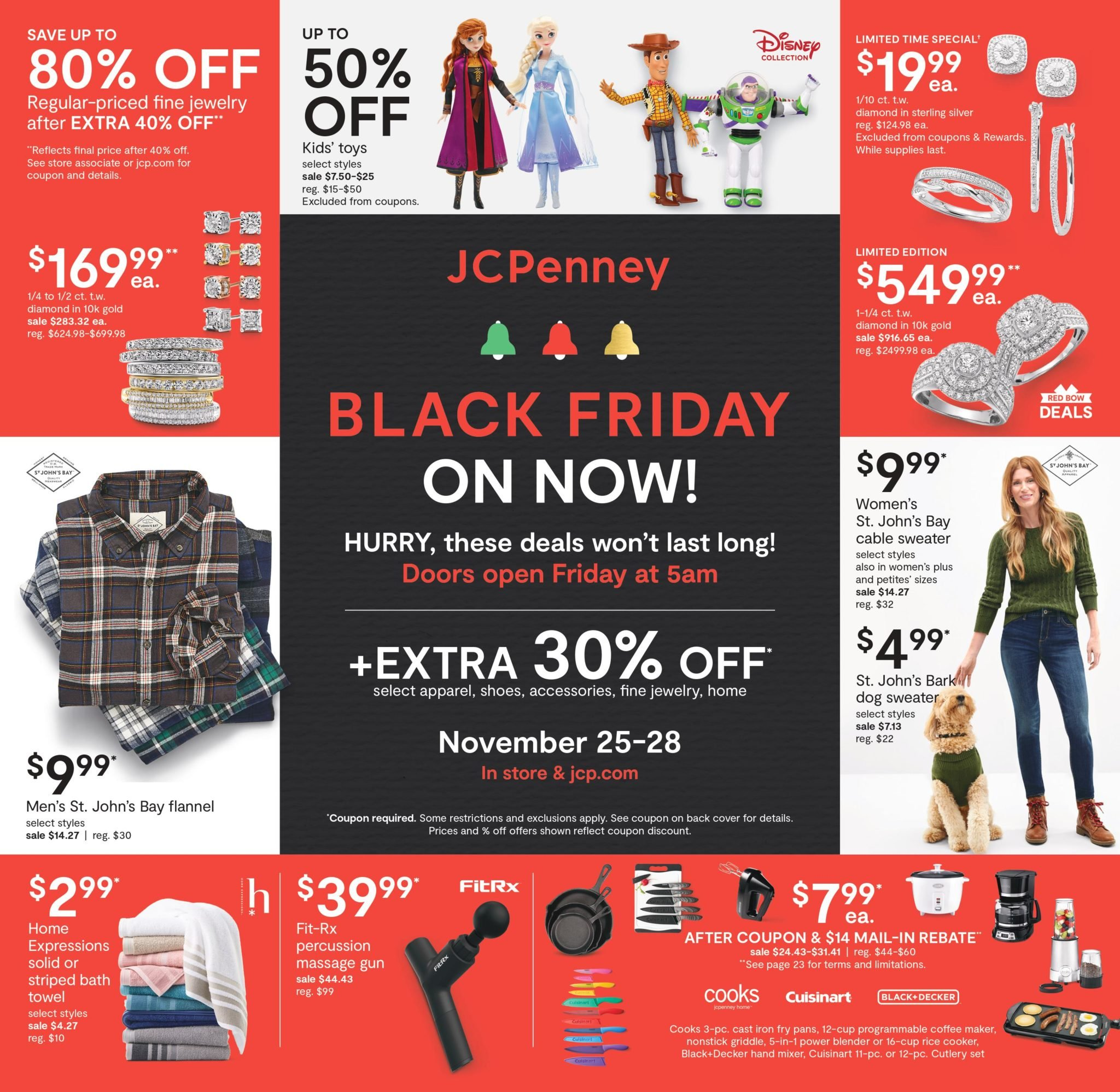 JCPenney Black Friday Ad Sale 2021