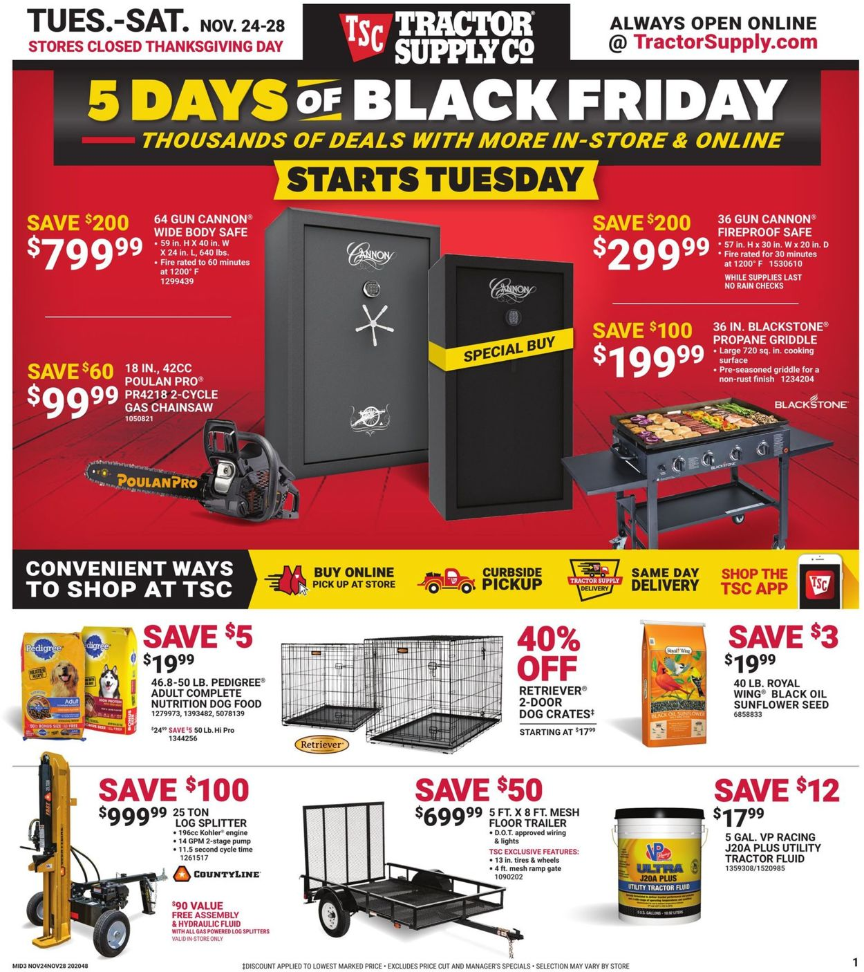 Tractor Supply Black Friday Sale Ad 32