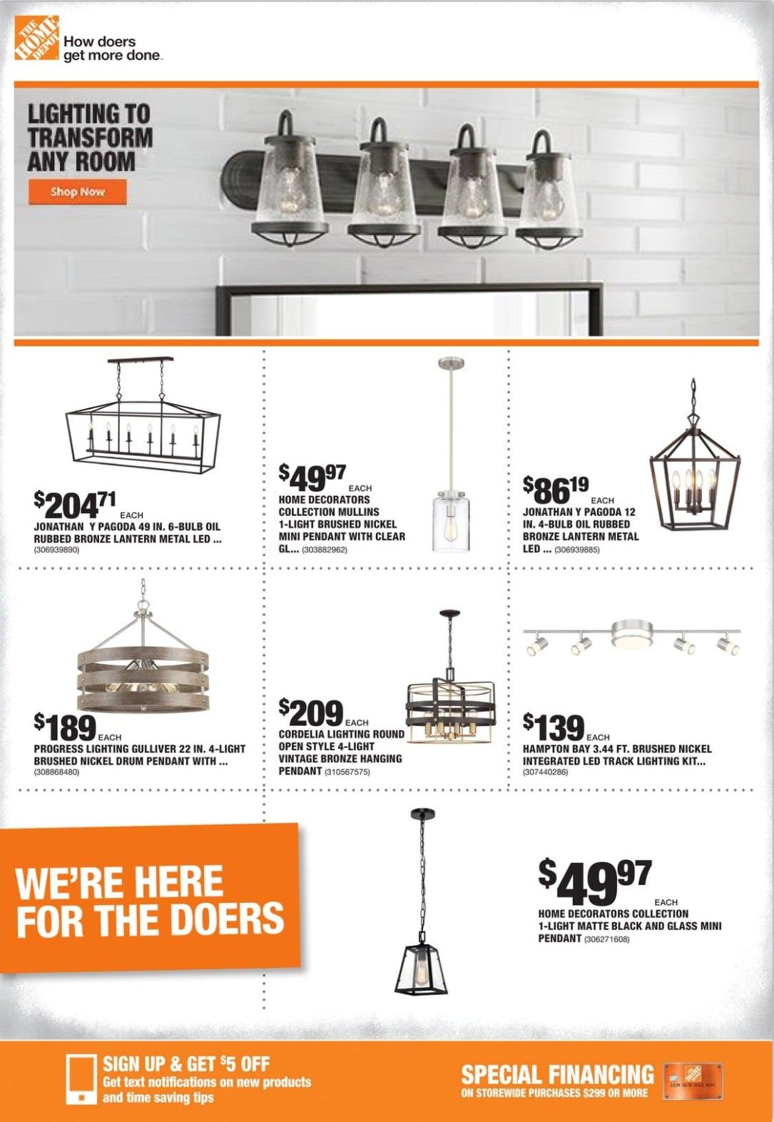 Home Depot Weekly Ad January 7 - January 13, 2021
