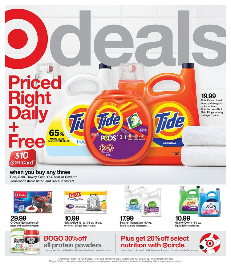 Target Weekly Sale January 10 - January 16, 2021